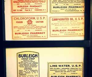Burleigh Pharmacy Medication Labels